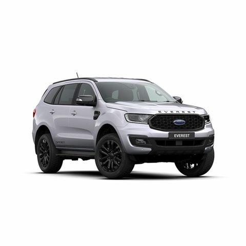 New Ford Everest UA II 2020.25MY Sport 4WD, 2019 Ford Everest UA II 2020.25MY Sport 4WD Aluminium 10 Speed Sports Automatic Wagon