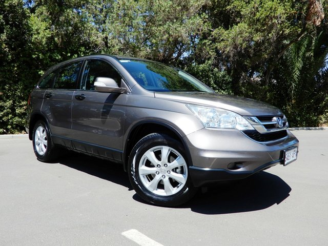 Used Honda CR-V RE MY2011 Luxury 4WD, 2012 Honda CR-V RE MY2011 Luxury 4WD Bronze 5 Speed Automatic Wagon