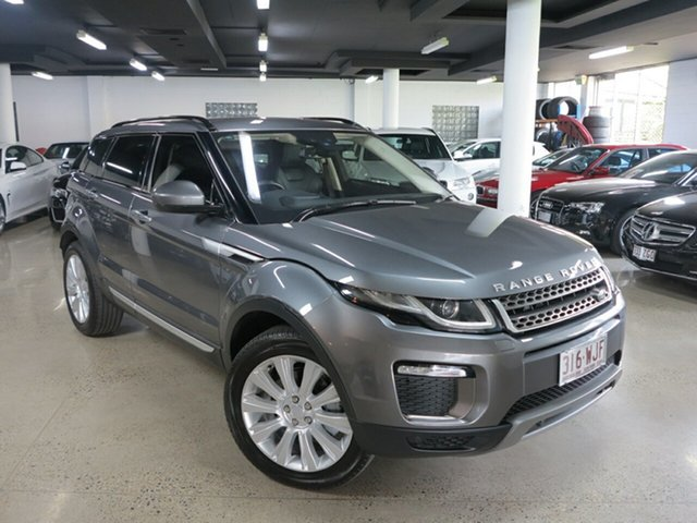 Used Land Rover Range Rover Evoque L538 MY16.5 TD4 180 HSE, 2016 Land Rover Range Rover Evoque L538 MY16.5 TD4 180 HSE Corris Grey 9 Speed Sports Automatic