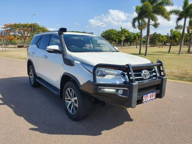 Used Toyota Fortuner GUN156R Crusade, 2015 Toyota Fortuner GUN156R Crusade White 6 Speed Automatic Wagon