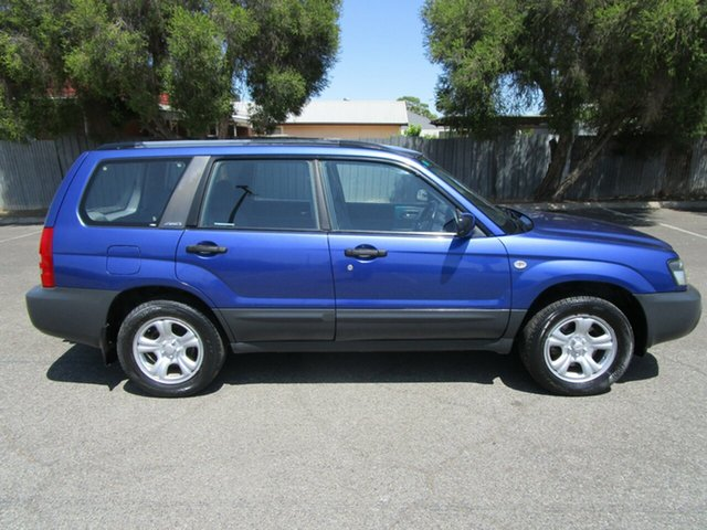 Used Subaru Forester MY05 X, 2005 Subaru Forester MY05 X 5 Speed Manual Wagon