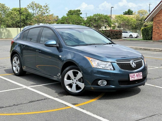 Used Holden Cruze JH Series II MY14 Equipe, 2013 Holden Cruze JH Series II MY14 Equipe Green 6 Speed Sports Automatic Hatchback