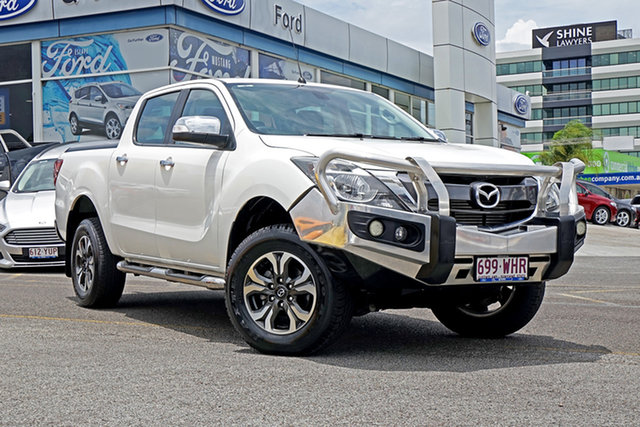Used Mazda BT-50 UP0YF1 GT, 2015 Mazda BT-50 UP0YF1 GT White 6 Speed Sports Automatic Utility