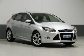 2013 Ford Focus LW MK2 Sport Silver 6 Speed Automatic Hatchback.
