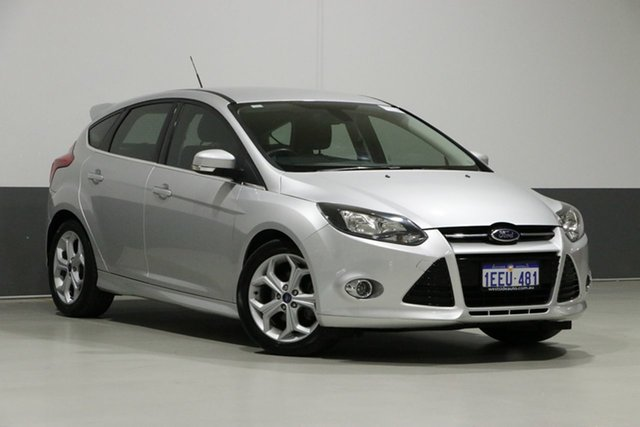 Used Ford Focus LW MK2 Sport, 2013 Ford Focus LW MK2 Sport Silver 6 Speed Automatic Hatchback