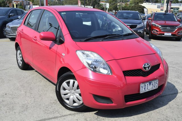 Used Toyota Yaris NCP130R YR, 2011 Toyota Yaris NCP130R YR Pink 4 Speed Automatic Hatchback