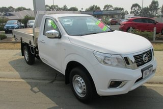 2017 Nissan Navara D23 S2 RX 4x2 White 6 Speed Manual Cab Chassis.
