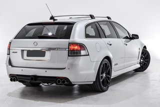 2014 Holden Commodore VF MY14 SS V Sportwagon Redline Silver 6 Speed Sports Automatic Wagon.