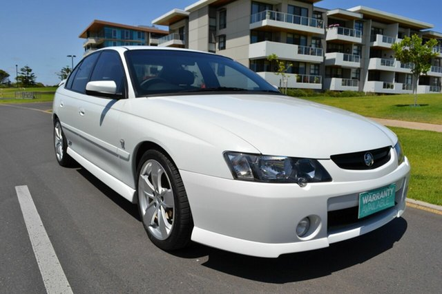 Used Holden Commodore VY II SS, 2003 Holden Commodore VY II SS White 4 Speed Automatic Sedan