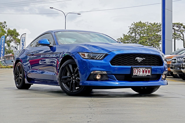 Used Ford Mustang FM Fastback, 2016 Ford Mustang FM Fastback Blue 6 Speed Manual Fastback