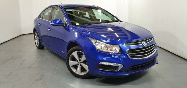 Used Holden Cruze JH Series II MY16 Z-Series, 2016 Holden Cruze JH Series II MY16 Z-Series Blue 6 Speed Sports Automatic Sedan