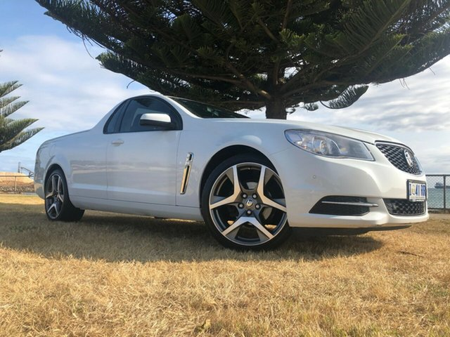 Used Holden Ute VF II MY17 Ute, 2017 Holden Ute VF II MY17 Ute White 6 Speed Sports Automatic Utility