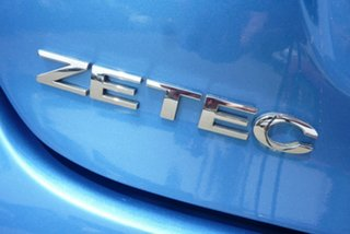 2010 Ford Fiesta WS Zetec Blue 4 Speed Automatic Hatchback
