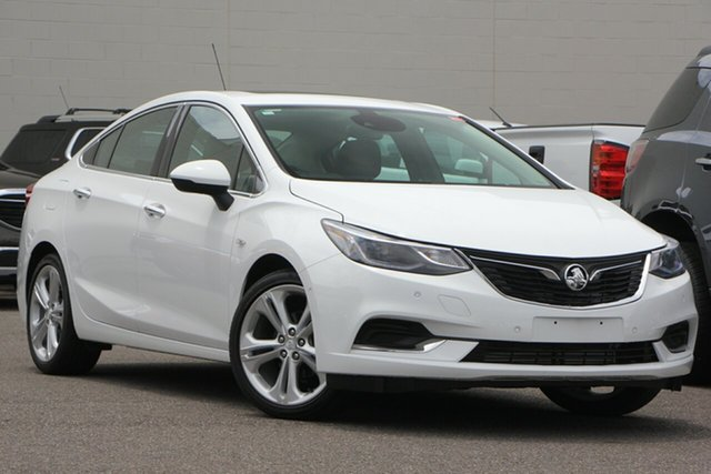 Used Holden Astra BL MY18 LTZ, 2018 Holden Astra BL MY18 LTZ White 6 Speed Sports Automatic Sedan