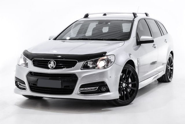 Used Holden Commodore VF MY14 SS V Sportwagon Redline, 2014 Holden Commodore VF MY14 SS V Sportwagon Redline Silver 6 Speed Sports Automatic Wagon