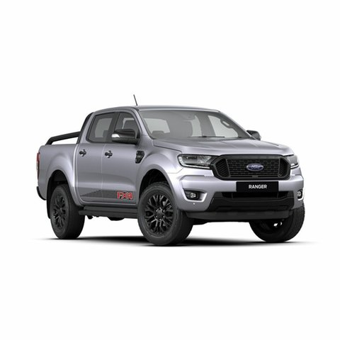 New Ford Ranger PX MkIII 2020.25MY FX4 Pick-up Double Cab, 2019 Ford Ranger PX MkIII 2020.25MY FX4 Pick-up Double Cab Aluminium 6 Speed Sports Automatic