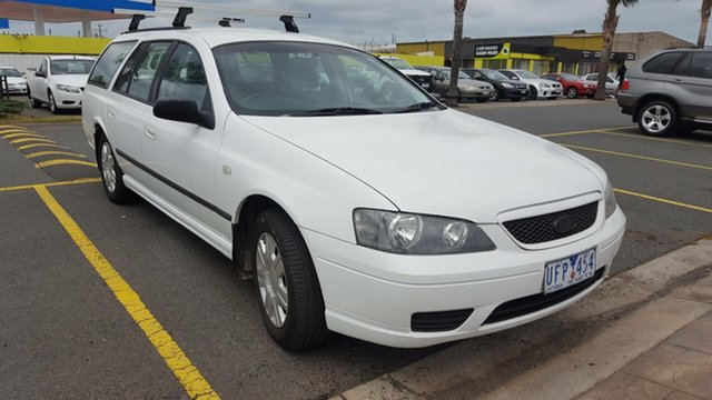 Used Ford Falcon BF XT, 2006 Ford Falcon BF XT White 4 Speed Sports Automatic Wagon