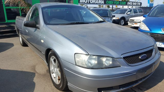 Used Ford Falcon BA XL Ute Super Cab, 2003 Ford Falcon BA XL Ute Super Cab Grey 4 Speed Automatic Utility