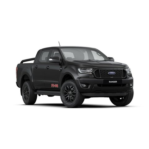 New Ford Ranger PX MkIII 2020.25MY FX4 Pick-up Double Cab, 2019 Ford Ranger PX MkIII 2020.25MY FX4 Pick-up Double Cab Shadow Black 6 Speed Sports Automatic