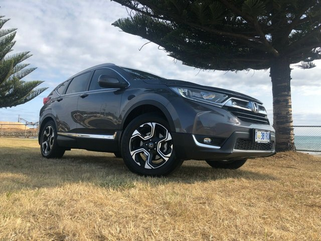 Used Honda CR-V RW MY18 VTi-S FWD, 2018 Honda CR-V RW MY18 VTi-S FWD Modern Steel 1 Speed Constant Variable Wagon