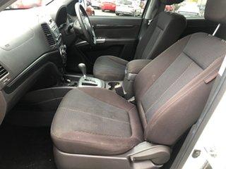 2011 Hyundai Santa Fe CM MY12 SLX CRDi (4x4) White 6 Speed Automatic Wagon