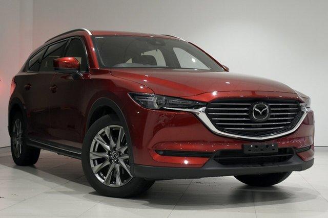 Used Mazda CX-8 KG4W2A Asaki SKYACTIV-Drive i-ACTIV AWD, 2019 Mazda CX-8 KG4W2A Asaki SKYACTIV-Drive i-ACTIV AWD Soul Red 6 Speed Sports Automatic Wagon
