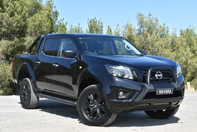 Demo Nissan Navara D23 S4 MY19 ST, 2019 Nissan Navara D23 S4 MY19 ST Cosmic Black 7 Speed Sports Automatic Utility