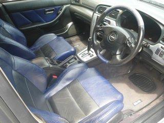 2002 Subaru Liberty B3 MY03 B4 AWD Silver 4 Speed Sports Automatic Sedan.