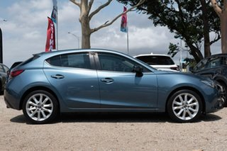 2015 Mazda 3 BM5438 SP25 SKYACTIV-Drive GT Blue 6 Speed Sports Automatic Hatchback