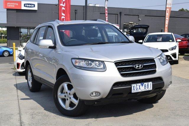 Used Hyundai Santa Fe CM MY09 SLX, 2009 Hyundai Santa Fe CM MY09 SLX Silver 5 Speed Sports Automatic Wagon