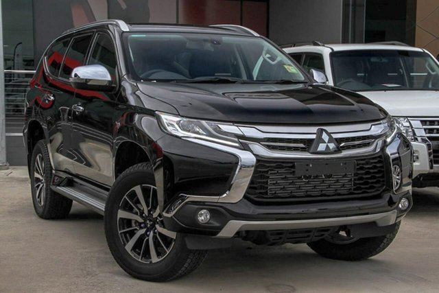 Used Mitsubishi Pajero Sport QE MY19 GLX, 2019 Mitsubishi Pajero Sport QE MY19 GLX Black 8 Speed Sports Automatic Wagon