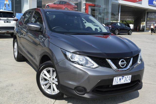 Used Nissan Qashqai J11 ST, 2017 Nissan Qashqai J11 ST Grey 1 Speed Constant Variable Wagon