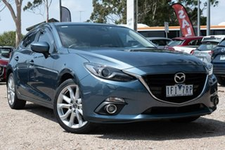 2015 Mazda 3 BM5438 SP25 SKYACTIV-Drive GT Blue 6 Speed Sports Automatic Hatchback.