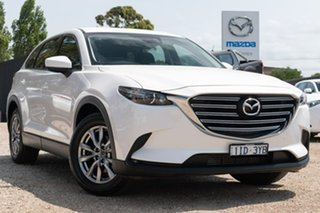 2016 Mazda CX-9 TC Touring SKYACTIV-Drive i-ACTIV AWD White 6 Speed Sports Automatic Wagon.
