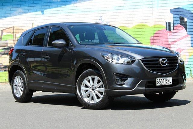 Used Mazda CX-5 KE1072 Maxx SKYACTIV-Drive Sport, 2016 Mazda CX-5 KE1072 Maxx SKYACTIV-Drive Sport Grey 6 Speed Sports Automatic Wagon