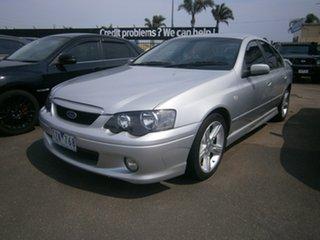 2005 Ford Falcon BF XR6 Silver 4 Speed Sports Automatic Sedan.