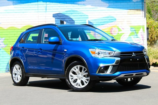 Used Mitsubishi ASX XC MY19 LS 2WD, 2018 Mitsubishi ASX XC MY19 LS 2WD Blue 6 Speed Constant Variable Wagon