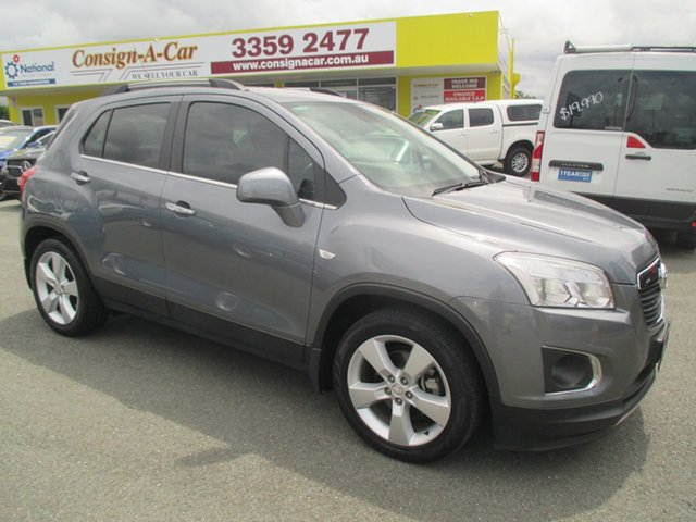 Used Holden Trax TJ MY14 LTZ, 2013 Holden Trax TJ MY14 LTZ Grey 6 Speed Automatic Wagon