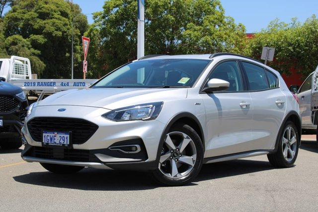 Demo Ford Focus SA 2019.25MY Active, 2019 Ford Focus SA 2019.25MY Active Silver 8 Speed Automatic Hatchback