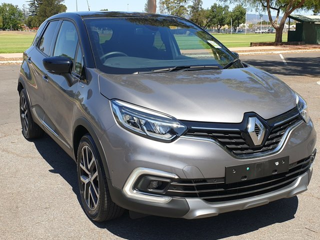 Demo Renault Captur J87 S-Edition EDC, 2018 Renault Captur J87 S-Edition EDC Oyster Grey & Diamond Black 6 Speed