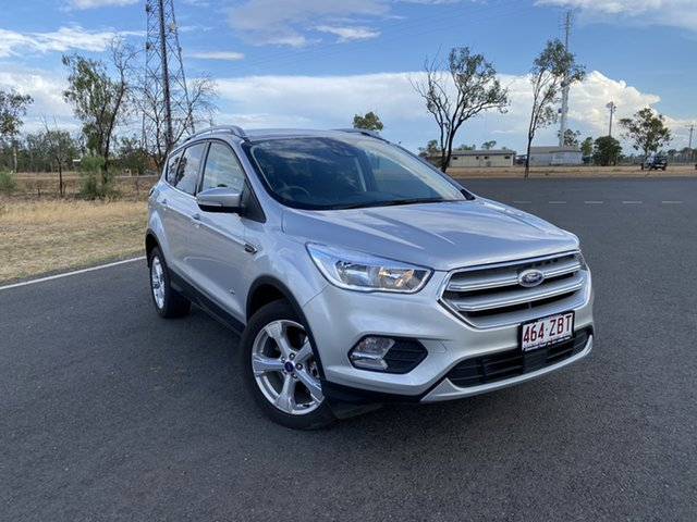 Used Ford Escape ZG 2018.75MY Trend PwrShift AWD, 2018 Ford Escape ZG 2018.75MY Trend PwrShift AWD Moondust Silver 6 Speed