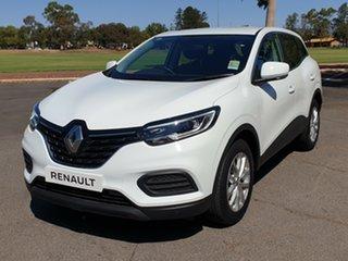2019 Renault Kadjar XFE Life EDC Glacier White 7 Speed Sports Automatic Dual Clutch Wagon.