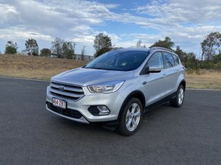 2018 Ford Escape ZG 2018.75MY Trend PwrShift AWD Moondust Silver 6 Speed
