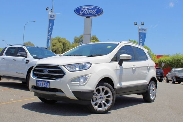 Used Ford Ecosport BL 2019.25MY Titanium, 2019 Ford Ecosport BL 2019.25MY Titanium White 6 Speed Automatic Wagon