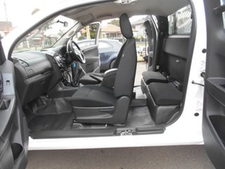 2013 Isuzu D-MAX TF MY12 SX (4x4) White 5 Speed Manual Space Cab Chassis