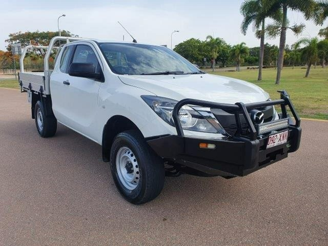 Used Mazda BT-50 UR0YG1 XTR Freestyle, 2017 Mazda BT-50 UR0YG1 XTR Freestyle White 6 Speed Manual Utility