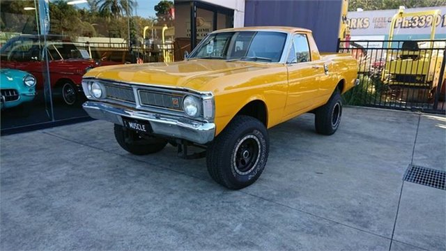 Used Ford Falcon XY 4x4, 1971 Ford Falcon XY 4x4 Summer Gold 3 Speed Manual Utility