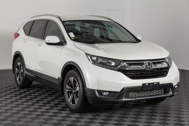 Used Honda CR-V RW MY18 VTi FWD, 2018 Honda CR-V RW MY18 VTi FWD White 1 speed Automatic Wagon