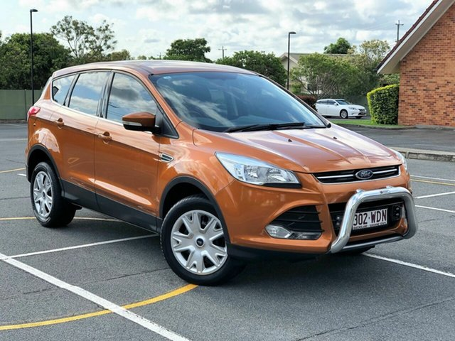 Used Ford Kuga TF MY15 Ambiente 2WD, 2015 Ford Kuga TF MY15 Ambiente 2WD Orange 6 Speed Sports Automatic Wagon