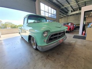 1955 Chevrolet 3100 Mint Green 3 Speed Automatic Pickup